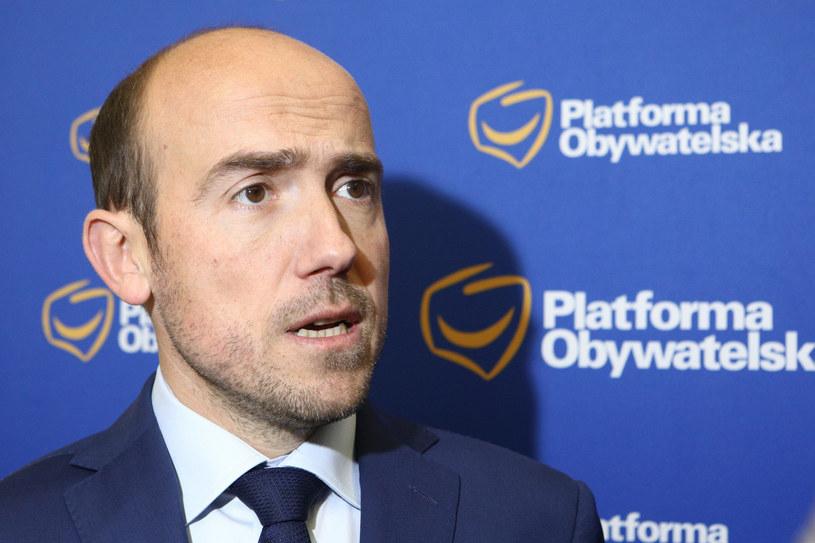 O wniosku poinformował polityk PO Borys Budka /Fot Tomasz Jastrzebowski /Reporter