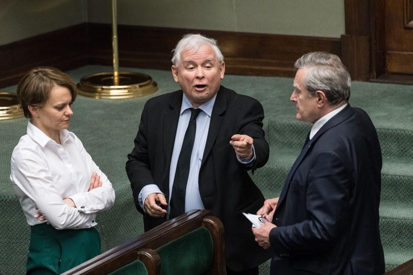 O wszystkim jak zwykle zadecyduje Jarosław Kaczyński /Jacek Domiński /Reporter