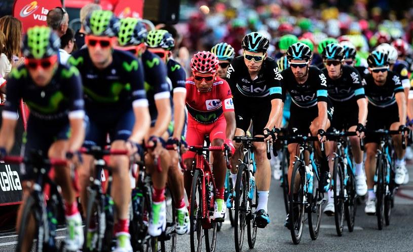 O wygranej w ostatnim etapie Vuelta a Espana zdecydował finisz z peletonu /AFP