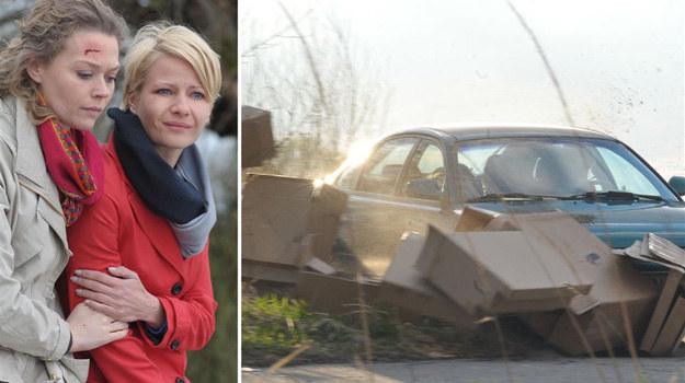 O wypadku Hanki poinformowała jej męża Marka (Kacper Kuszewski) Anna. /Agencja W. Impact