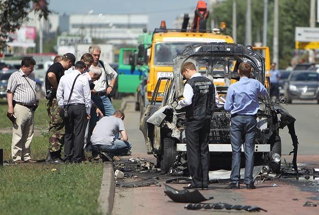 O zamach władze Tatarstanu - republiki w Federacji Rosyjskiej - oskarżają radykałów islamskich /AFP