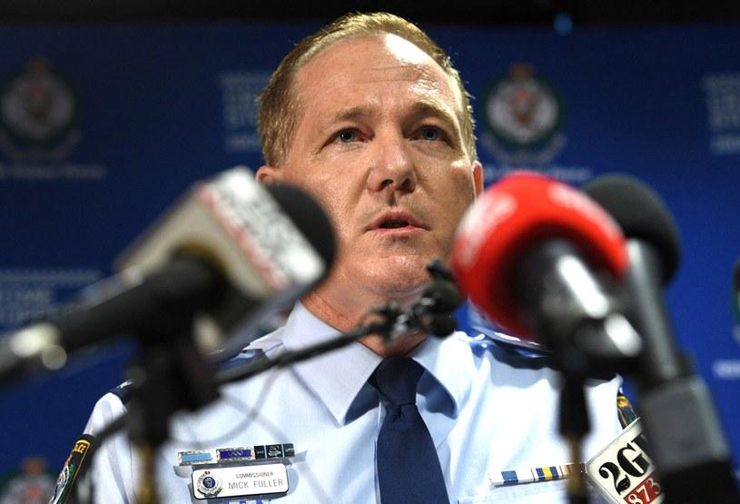 O zdarzeniu poinformował komisarz Mick Fuller /AFP
