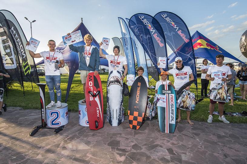 O zwycięstwo w zawodach kite'owych Ford Fiesta Kite Challenge walczyło ponad 50 zawodników i zawodniczek /materiały prasowe