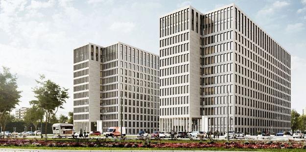 O3 Business Campus w Krakowie. Fot. Echo /