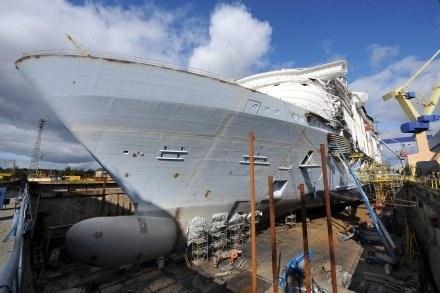 """""""Oasis of the Seas"""" opuści stocznię w Turku i wypłynie do portu macierzystego w Fort Lauderdale /AFP"""