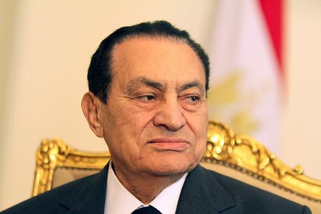 Obalony prezydent Egiptu Hosni Mubarak /AFP