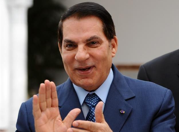 Obalony prezydent Tunezji - Zin el-Abidin Ben Ali /AFP