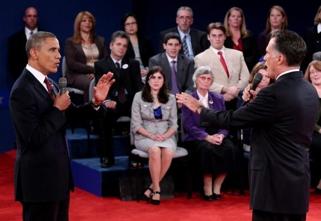 Obama kontra Romney /PAP/EPA /PAP/EPA