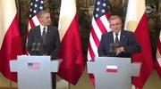 Obama: Przybyłem potwierdzić nasze zaangażowanie w obronę Polski