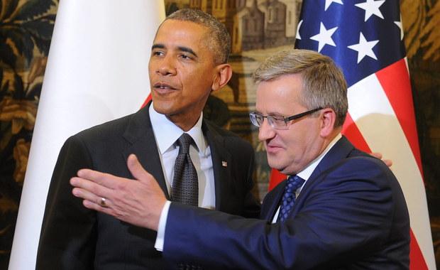 """""""Obama rzuca z Warszawy wyzwanie Moskwie"""""""