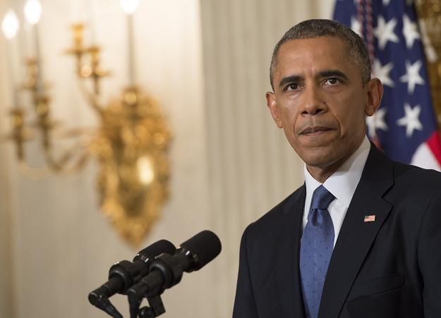 Obama swoją wypowiedzią ponownie przestraszył rynki /AFP
