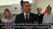 Obama uspokaja poszkodowanych przez Sandy