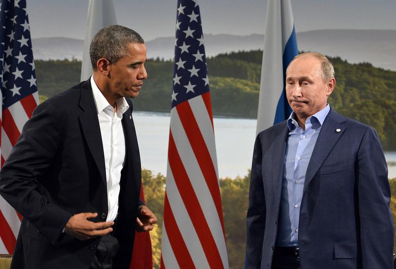 Obama w końcu stracił cierpliwość do Putina? /AFP