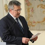 Obama żałuje, ale nie przeprasza w liście do Komorowskiego