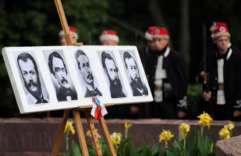 Obchody 150. rocznicy stracenia członków władz powstania styczniowego /Bartłomiej Zborowski /PAP