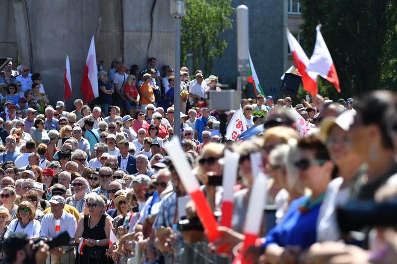 Obchody 30. rocznicy czerwcowych wyborów /Wojciech Strozyk/ /Reporter