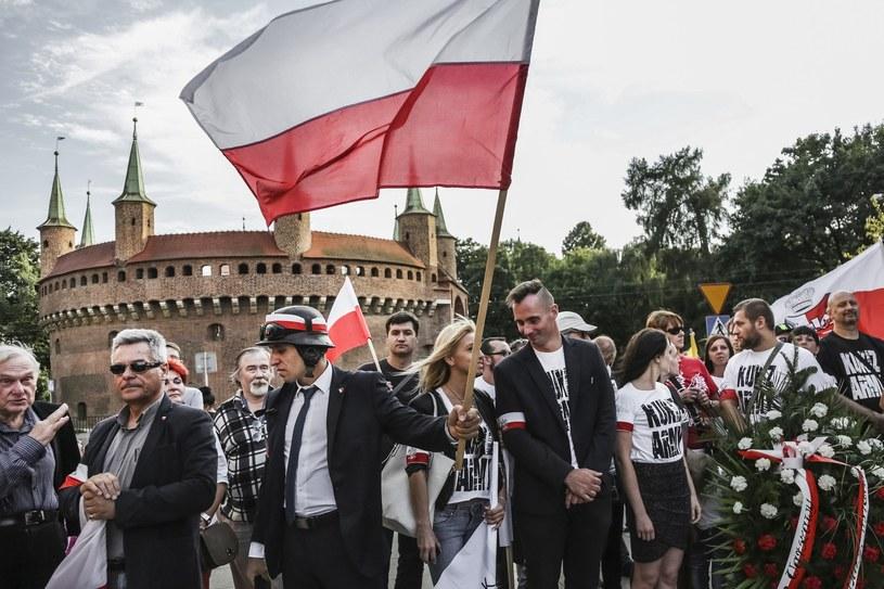 Obchody 71 rocznicy Powstania Warszawskiego przy grobie Nieznanego Żołnierza na Placu Matejki; 2015 roku; zdj. ilustracyjne /Beata Zawrzel /Reporter