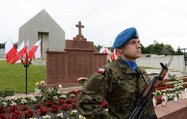 Obchody 73. rocznicy pacyfikacji Michniowa /Piotr Polak /PAP