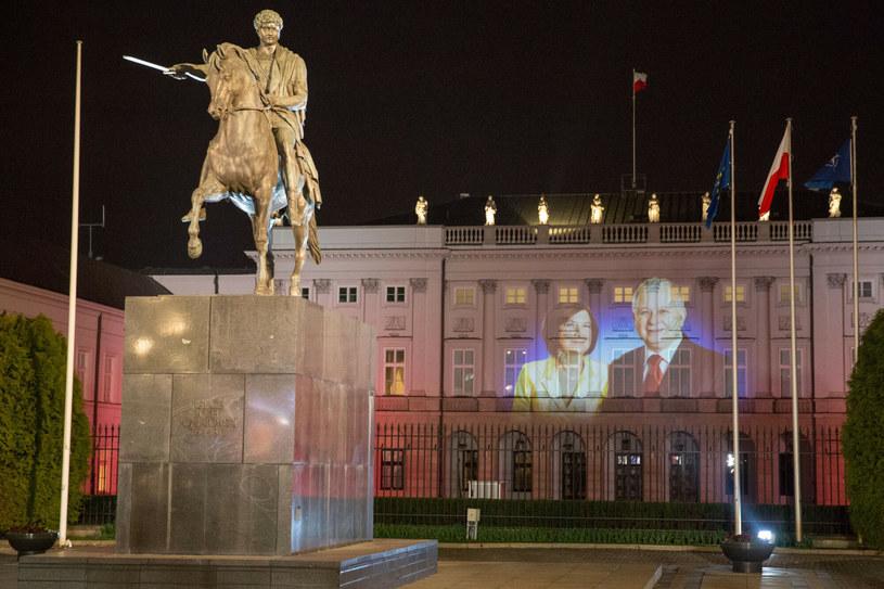 Obchody 9. rocznicy katastrofy smoleńskiej /fot. Andrzej Iwanczuk /Reporter