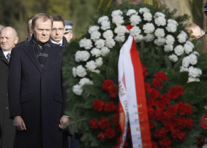 Obchody drugiej rocznicy katastrofy samolotu prezydenckiego pod Smoleńskiem /Michal Dyjuk /Reporter