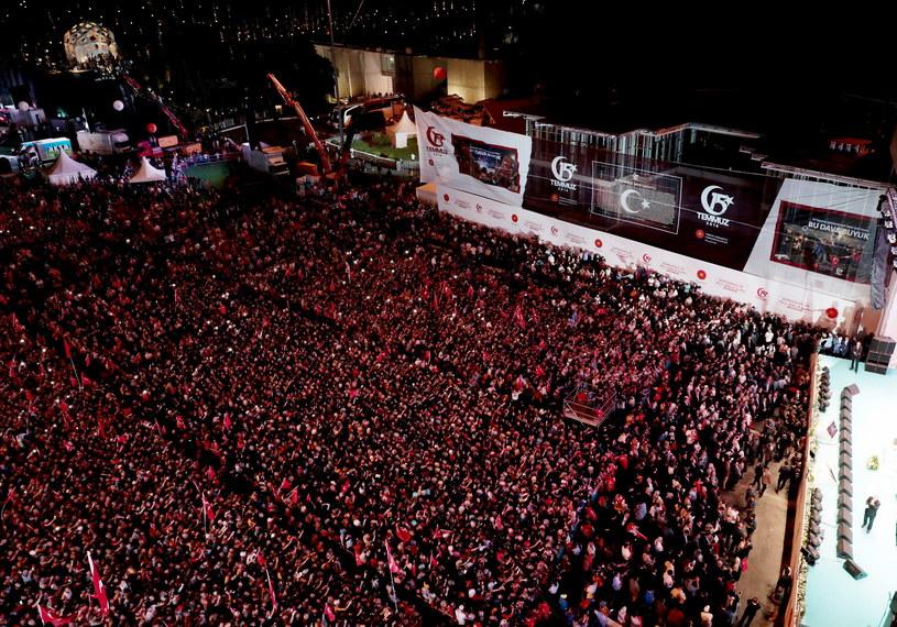 Obchody drugiej rocznicy udaremnienia puczu w Turcji /TURKISH PRESIDENTAL PRESS OFFICE / HANDOUT /PAP/EPA