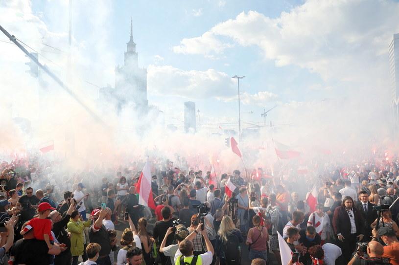 Obchody powstania warszawskiego w stolicy / Leszek Szymański    /PAP