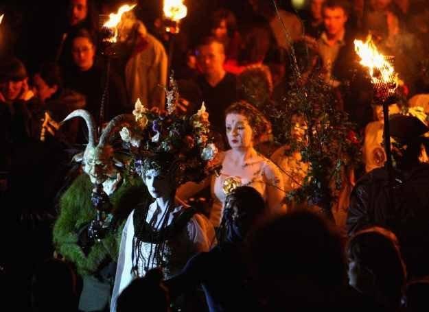 Obchody święta Beltaine w Edynburgu /Getty Images/Flash Press Media