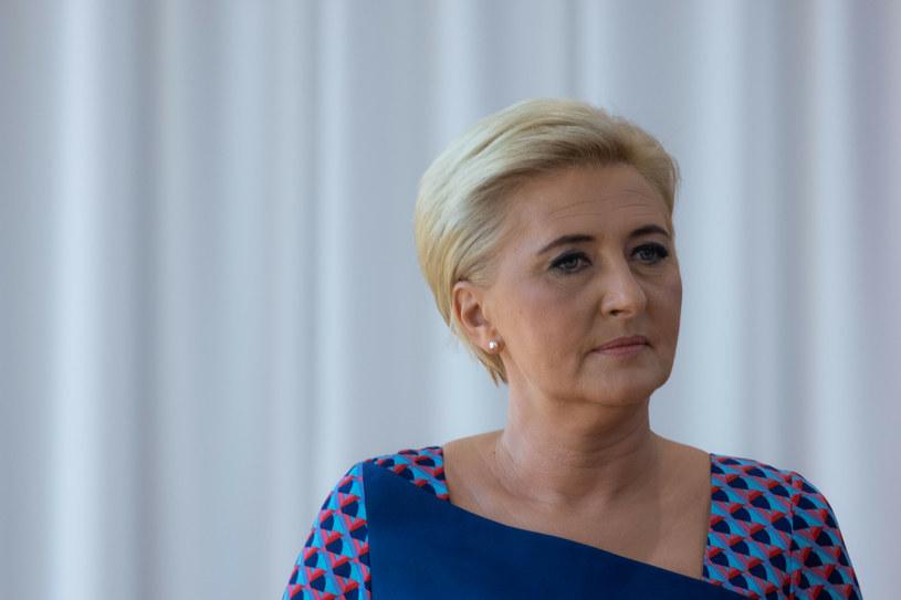 Obecna pierwsza dama - Agata Kornhauser-Duda /Jacek Dominski/ /Reporter