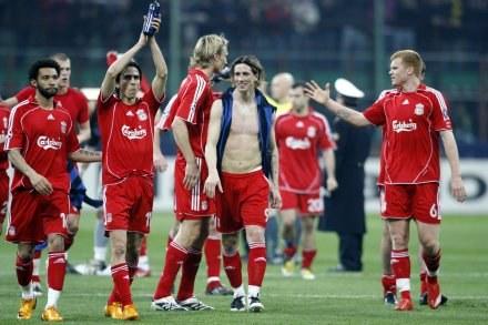 Obecni piłkarze Liverpoolu /AFP