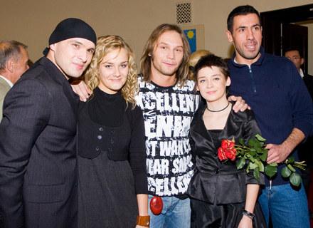 Obecni soliści Piotra Rubika (Nowakowska druga z lewej) - fot. Paweł Przybyszewski /MWMedia