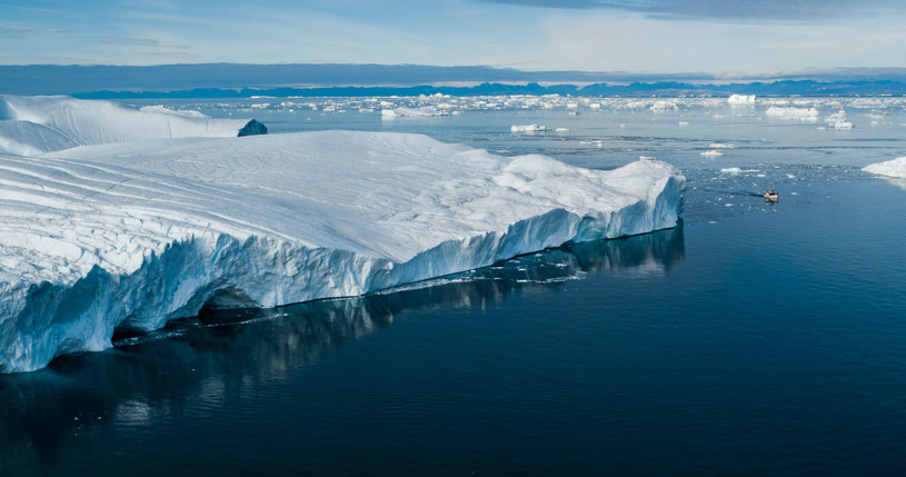 Obecnie na Grenlandii odnotowuje się wyjątkowo wysokie temperatury – wyższe nawet o ponad 10 st. Celsjusza od średniej /123RF/PICSEL