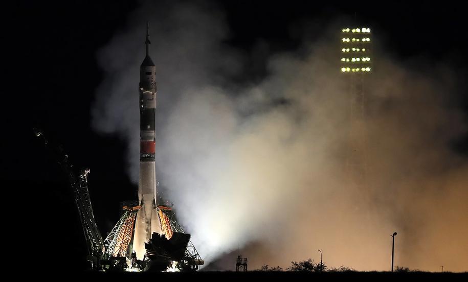 Obecnie rosyjskie statki kosmiczne docierają do Międzynarodowej Stacji Kosmicznej w czasie od 6 do 48 godzin /MAXIM SHIPENKOV    /PAP/EPA