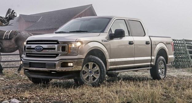 Obecnie sprzedawany Ford F-150 /