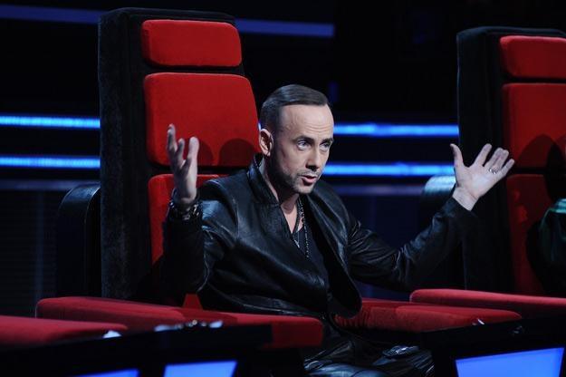 """Obecność Nergala w """"The Voice Of Poland"""" budziła spore kontrowersje /MWMedia"""