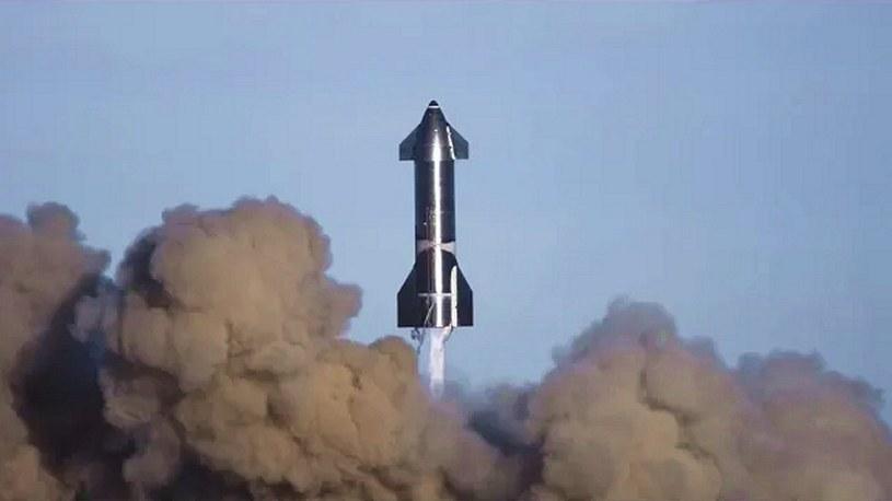 Obejrzyjcie oficjalny, spektakularny film SpaceX z lotu prototypu Starship [FILM] /Geekweek