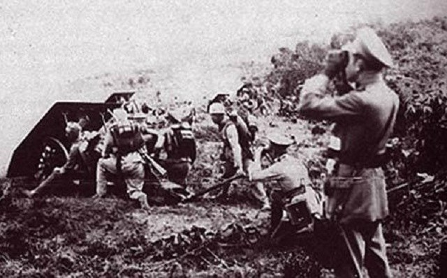 Obie strony były świadome nadchodzącego konfliktu. Kolumbijscy artylerzyści w czasie manewrów w 1932 roku /Wikimedia Commons /INTERIA.PL/materiały prasowe