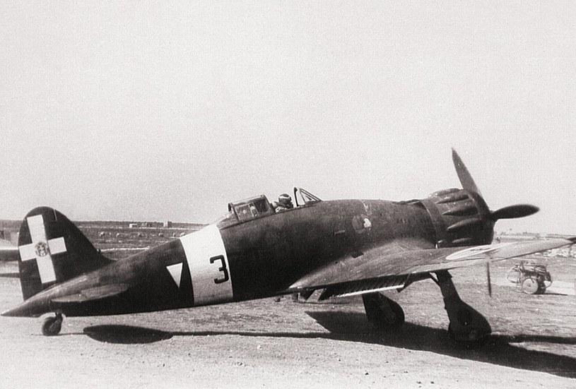 Obiekt poszukiwań - Macchi MC. 200 Saetta /War Museum Valletta /materiały prasowe