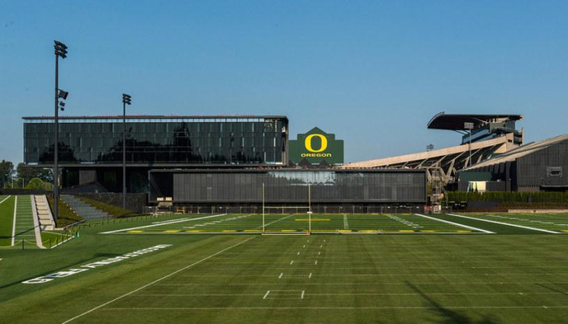 Obiekty treningowe Oregon Ducks to kompleks na miarę XXI wieku /materiały prasowe