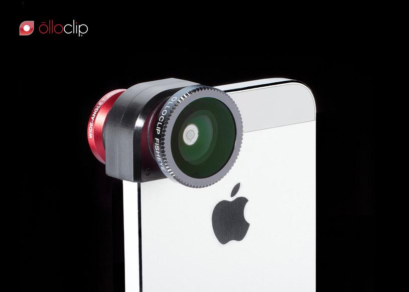 Obiektyw Olloclip do iPhone'a 5 /materiały prasowe