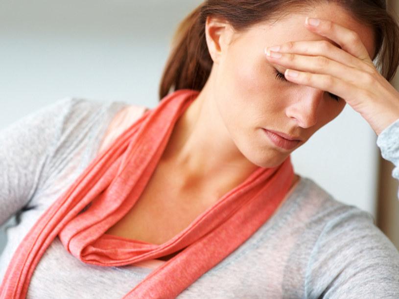Objawem anemii może być spadek energii i rozdrażnienie  /© Panthermedia