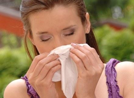 Objawy przeziębienia i alergii mogą być podobne