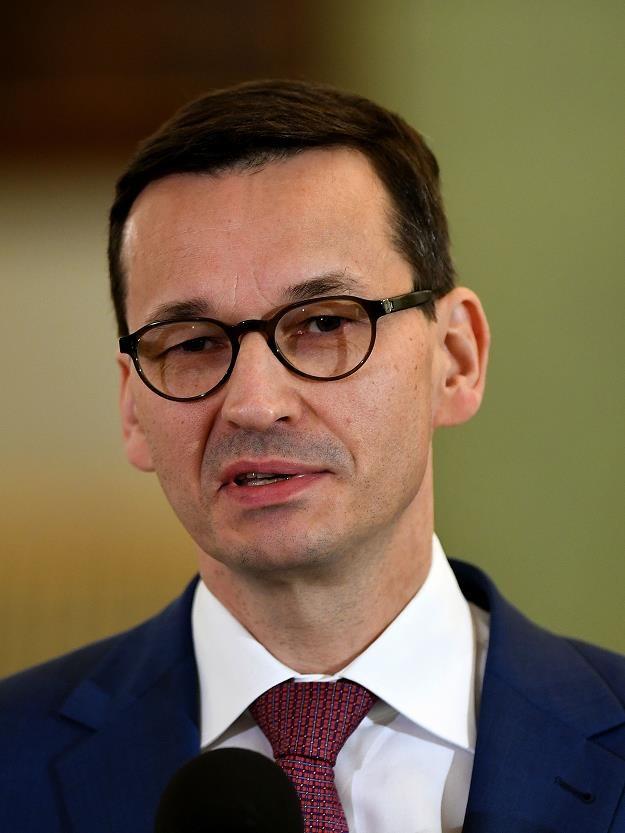 Objęcie przez Morawieckiego stanowiska premiera   może zmienić klimat inwestycyjny dla Polski /AFP