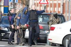 Obława na terrorystów w Brukseli