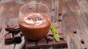 Obłędny i niskokaloryczny mus czekoladowy
