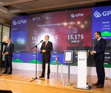 Obligacje PFR zadebiutowały na warszawskim parkiecie