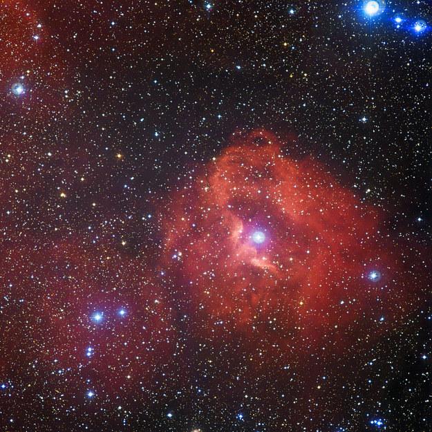 Obłok wodoru Gum 41 Fot. ESO /materiały prasowe