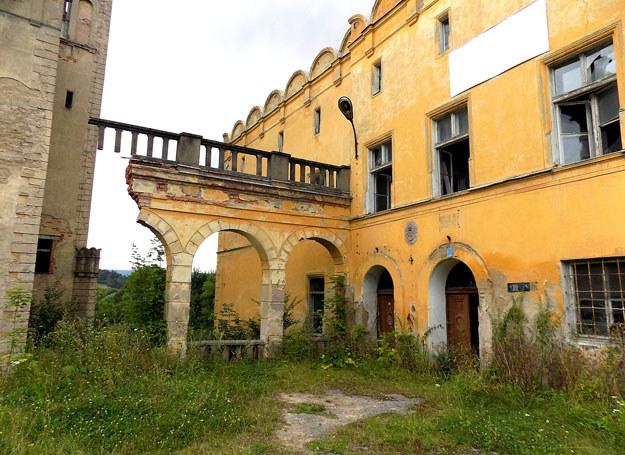 Obok wież pozostałości kolumnady dziedzińcowej / Dariusz Pietrucha /Odkrywca