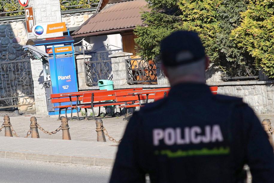 Obok znanego zakopiańskiego sanktuarium maryjnego na Krzeptówkach w nocy z czwartku na piątek wysadzono bankomat / Grzegorz Momot    /PAP