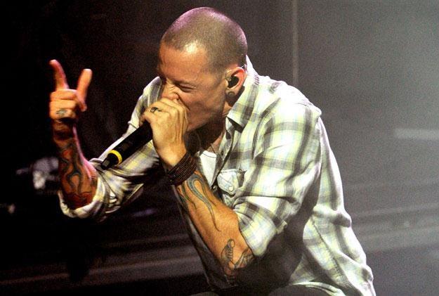 Obolały Chester Bennington (Linkin Park) fot. Kevin Winter /Getty Images/Flash Press Media