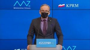 Obostrzenia po 9 kwietnia. Konferencja ministra zdrowia Adama Niedzielskiego